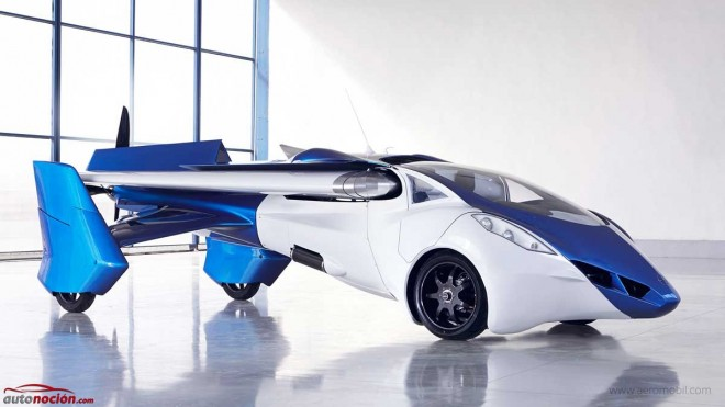 Aeromobile 3.0 pretende ser una realidad en 2017: ¿Seguro que te crees lo del coche volador?