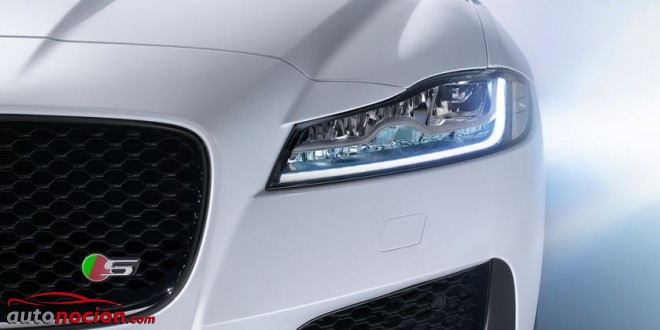 faro full led jaguar xf
