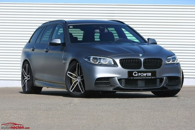 BMW M550d Touring por G-Power: 435 CV de potencia 'inteligente'