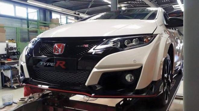 ¡Filtrado!: Este es el aspecto definitivo del Honda Civic Type R
