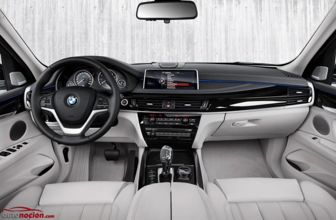 interior bmw x5 xdrive hibrid
