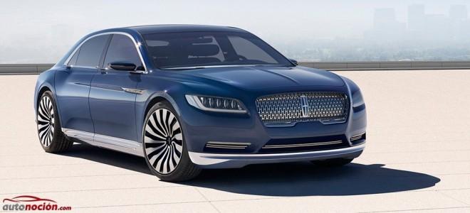 Lincoln Continental Concept: Así será la berlina americana de nueva generación