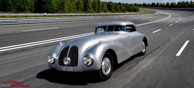 Mercedes-Benz 540K Streamliner, el prodigio de la aerodinámica renace 75 años después