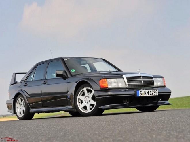El Mercedes-Benz 190 E 2.5-16 Evolution II cumple ya 25 añitos, pero su esencia luce tan fresca como el primer día