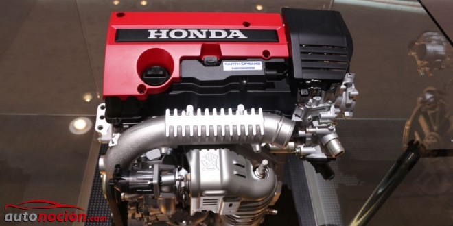 motor honda civic type r