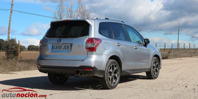 nuevo forester 2015 lineartronic
