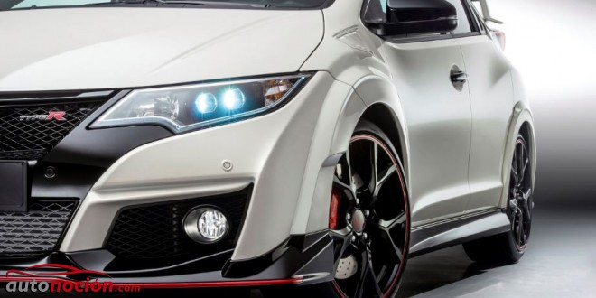 nuevo honda civic type r faro led