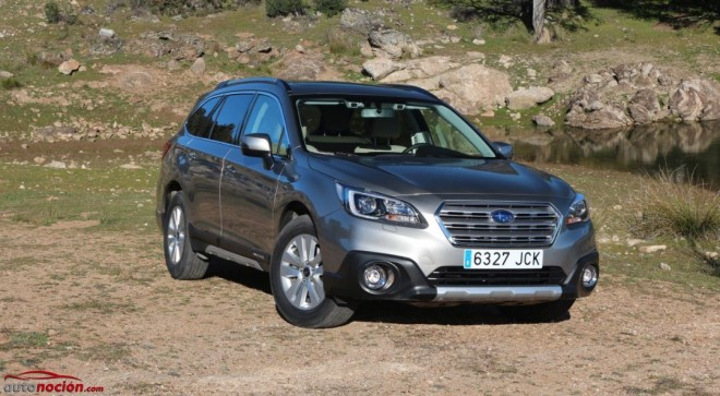 Prueba Nuevo Subaru Outback diésel Lineartronic: Más elegante, europeo y seguro que nunca