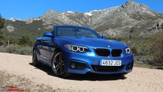 Prueba BMW 220i Cabrio M Sport: Pura esencia BMW, ahora a cielo abierto