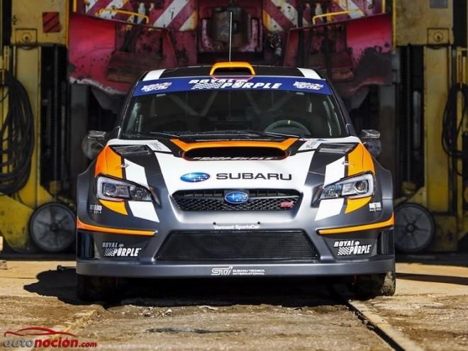 El Subaru WRX STI se prepara para el Red Bull Global Rallycross en Vermont SportsCar: Evolución y revolución