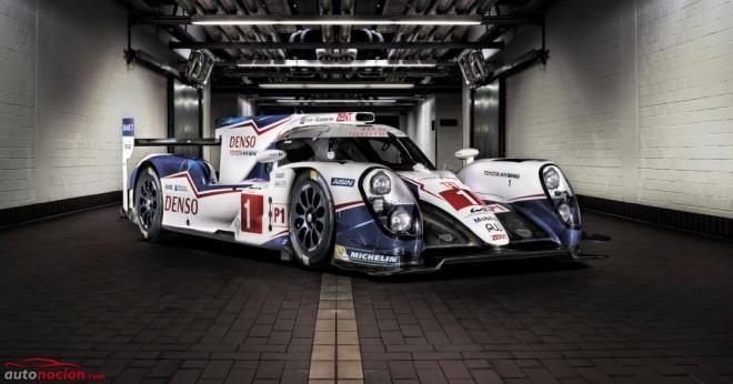 Toyota Racing nos muestra el TS040 HYBRID para la temporada 2015 del WEC