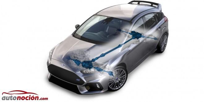 tracción AWD Focus RS