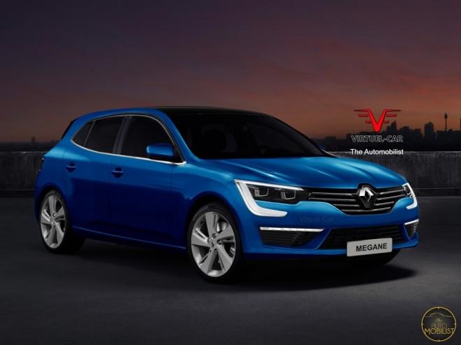 Nos imaginamos el Renault Mégane IV, el más seguro, ligero, habitable y eficiente hasta la fecha