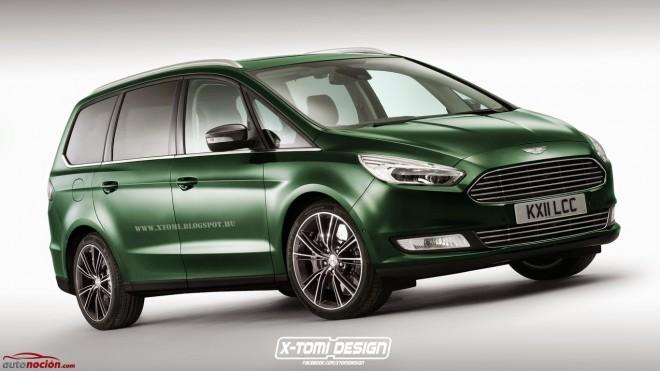 ¿Un Aston Martin Galaxy?: Para que veas lo parecidos que son los diseños