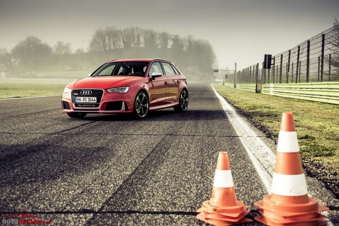 El Audi RS3 se muestra al detalle en una extensa galería de imágenes