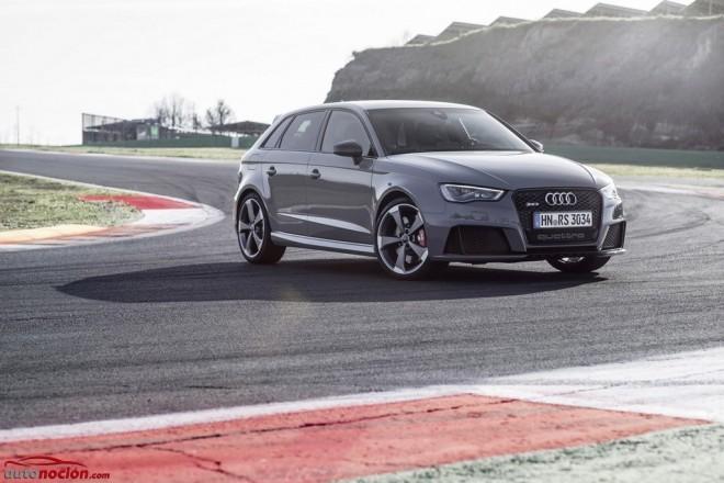 El Audi RS3 es el compacto más potente del segmento premium y ya tiene precio: ¡Maldito seas dinero!