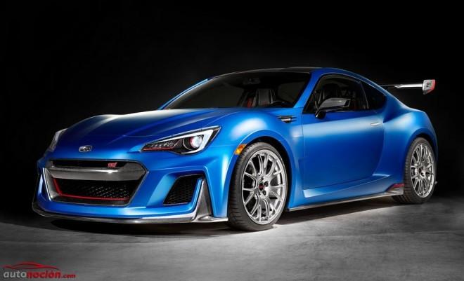 Subaru STI Performance Concept: El BRZ más salvaje es un escaparate de futuras piezas de alto rendimiento