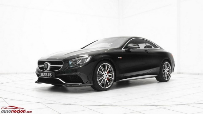 BRABUS prepara otro 850: Retocando al Mercedes-Benz S 63 AMG Coupé