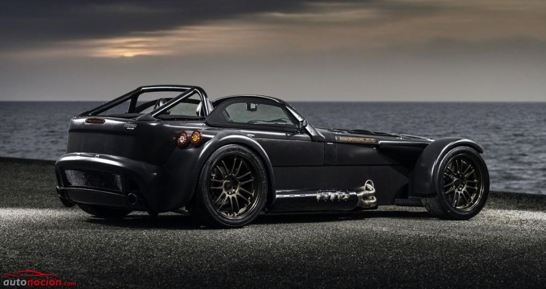 Donkervoort D8 GTO Bare Naked Carbon Edition trasera