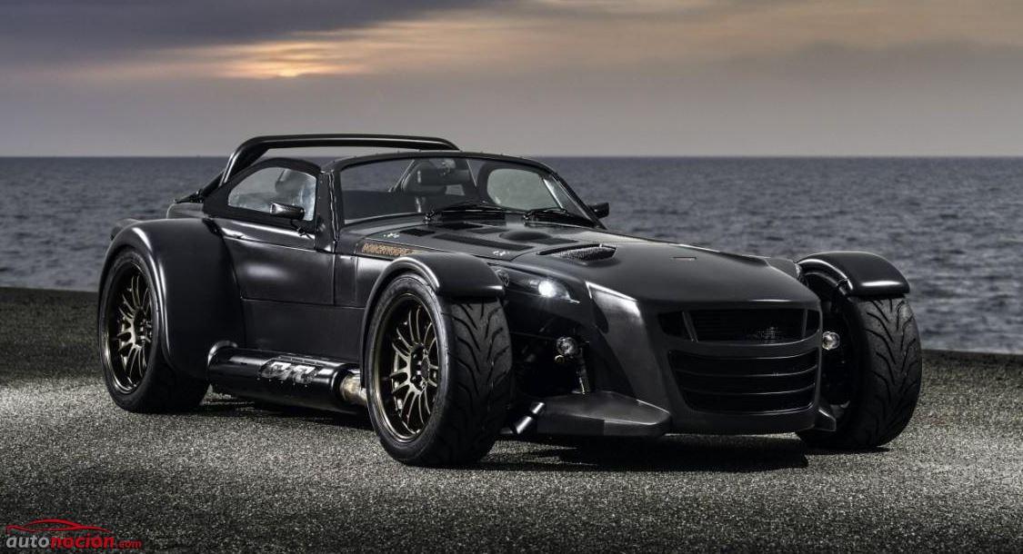 Fibra de carbono a punta pala con un motor AUDI 2,5L R5 TFSI: Así es el Donkervoort D8 GTO Bare Naked Carbon Edition