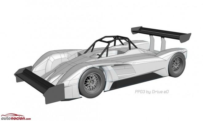 Así es el primer coche eléctrico de carreras de un megavatio que busca hacerse con el podio en Pikes Peak