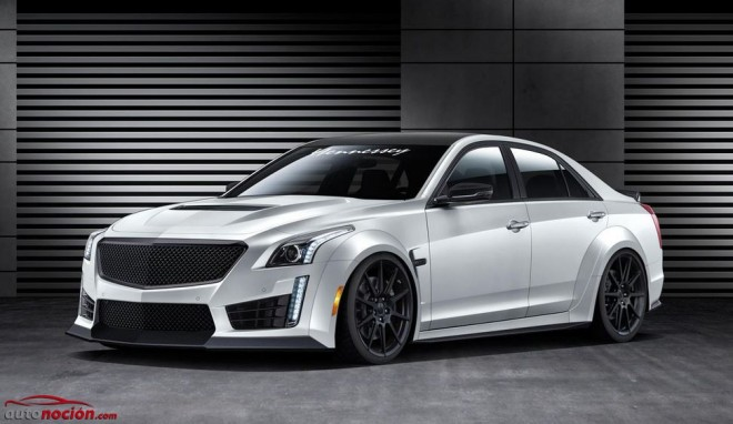 Hennessey aspira a hacer del Cadillac CTS-V la berlina más rápida del mundo