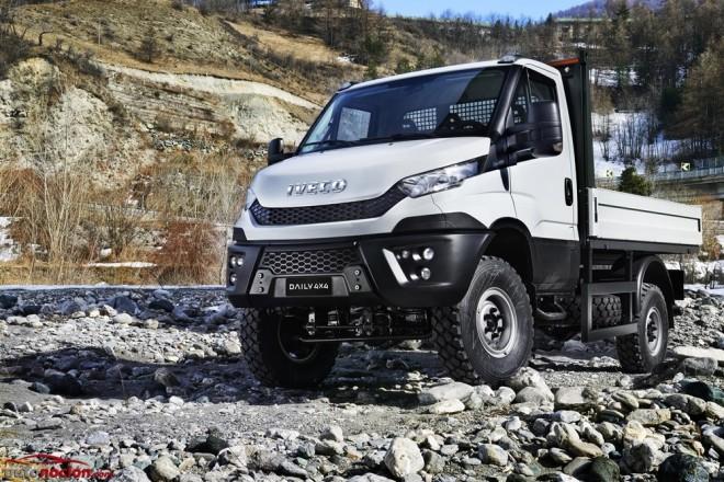 Iveco lanza el Daily 4×4 2015, la versión más off-road de su exitosa furgoneta