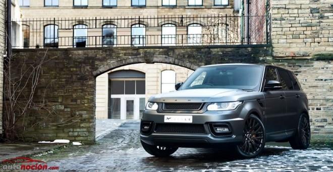 Kahn Desing ofrece una preparación para hacer al Range Rover Sport más lujoso