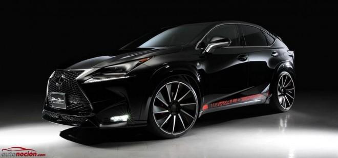 Wald International retoca al Lexus NX con su kit de carrocería: Acentuando los ángulos del nipón