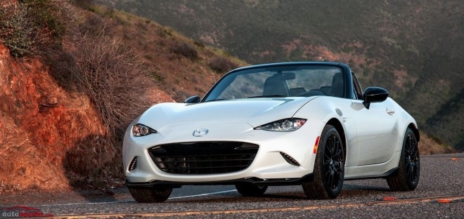 Mazda MX-5 Launch Edition y Club Miata: El roadster perfecto desde el principio