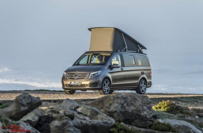 Mercedes-Benz Clase V Marco Polo y Marco Polo Activity, nueva y extensa galería del monovolumen más aventurero y funcional