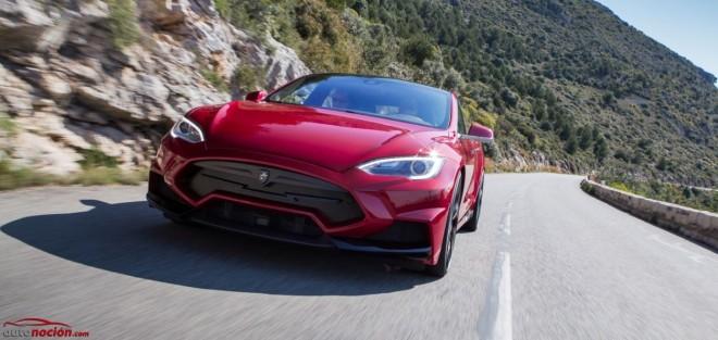 Tesla Model S Elizabeta 900 cv: La misma autonomía, una estética de infarto y el sonido de motor que tú quieras