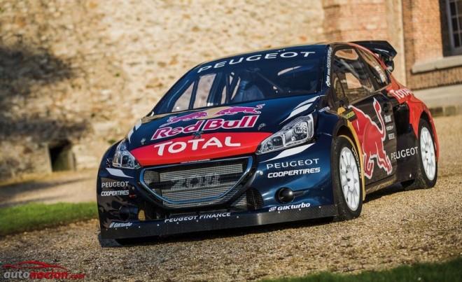 PEUGEOT 208 WRX: El anuncio del segundo asalto al Campeonato Mundial de Rallycross