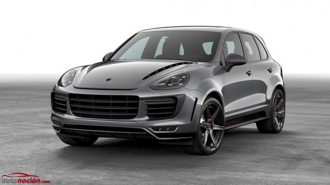 Así el nuevo y agresivo aspecto exterior que propone TopCar para el Porsche Cayenne