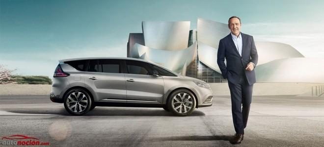 El Renault Espace ya tiene precios, equipamiento y a Kevin Spacey para demostrarte que es un modelo totalmente nuevo