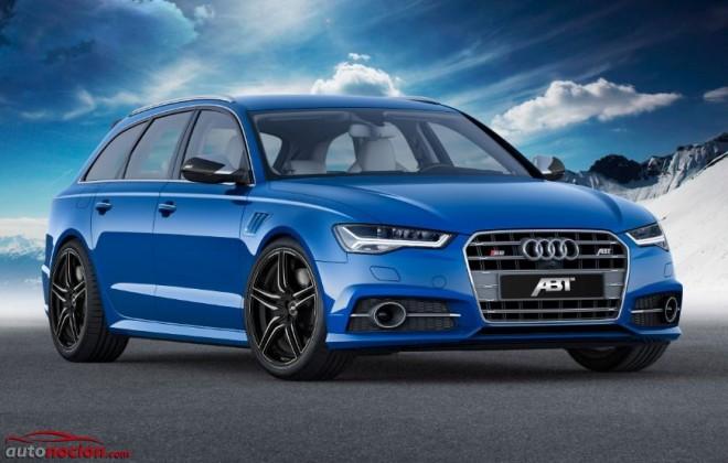 ABT convierte al Audi S6 en un RS6 en términos prestacionales…