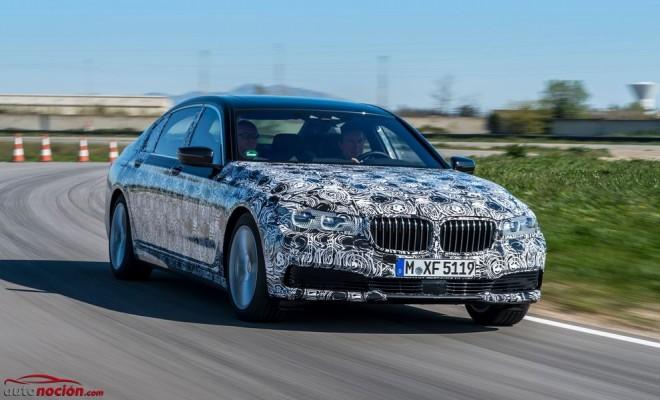 Primeros detalles oficiales del BMW Serie 7 2015: La Clase S de Mercedes-Benz debería preocuparse…