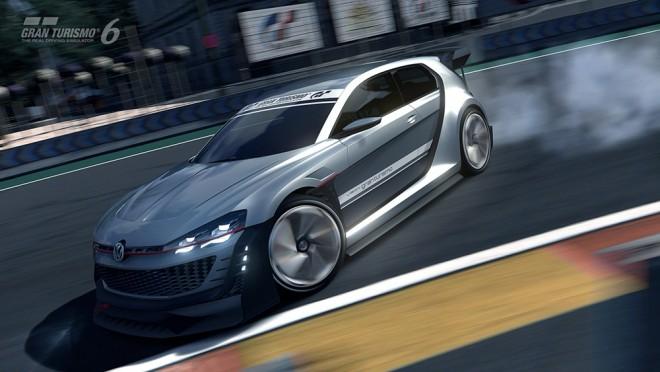 El Golf más salvaje llega al Gran Turismo 6 con 510 CV: Volkswagen GTI Supersport Vision GT