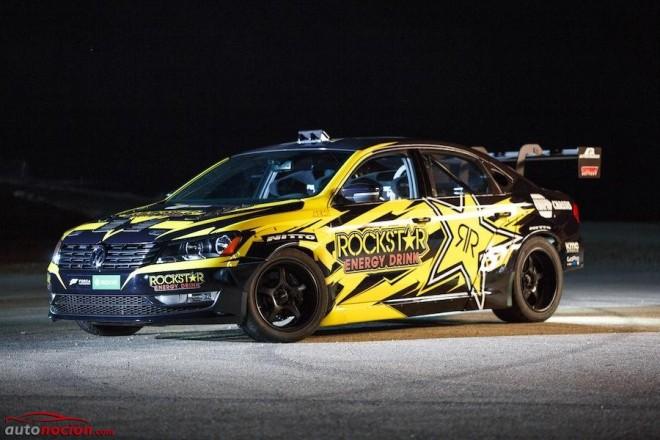 Radical: Un Volkswagen Passat con 900 CV para el regreso de Tanner Foust a la Fórmula Drift