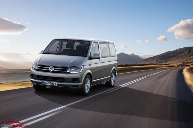 Volkswagen T6 2015, más monovolumen y menos furgoneta que nunca