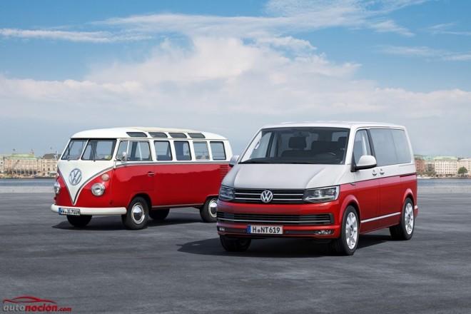 El Volkswagen T6 llega al mercado español: Más equipado, más eficiente e igual de costoso