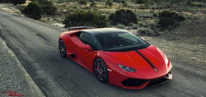 Vorstainer nos trae el Rosso Mars Lamborghini Huracan Verona Edizione
