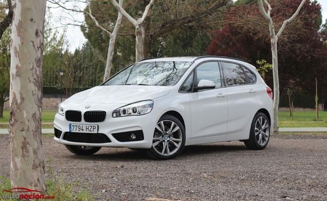 Prueba BMW Serie 2 Active Tourer 218d Sport: Concepto inédito en la marca enfocado a un nuevo público