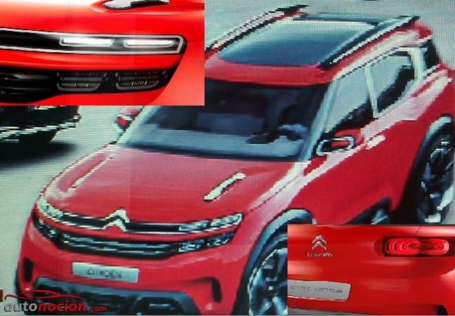 Filtrado: Así es el Aircross Concept que Citroën presentará el próximo día 8