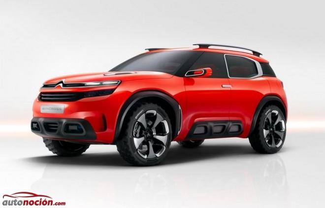 Citroën muestra el Aircross Concept: El ADN del Cactus se robustece y traslada a un nuevo nivel