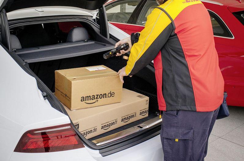 Amazon quiere carreteras que se comuniquen con los coches autónomos ¡Y ya tiene la patente!