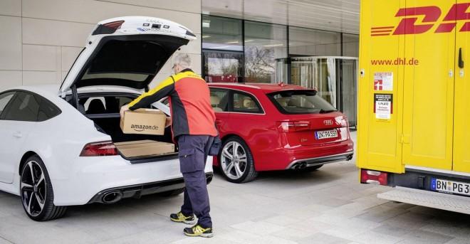 ¿Recibir los paquetes de Amazon en tu coche?: Ojo con este interesante servicio de Audi…