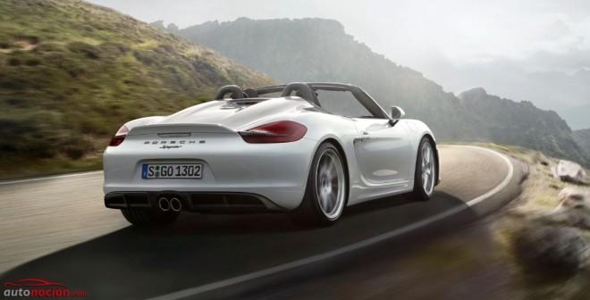 Así es el nuevo Porsche Boxster Spyder: El regreso al ligero y espartano roadster original