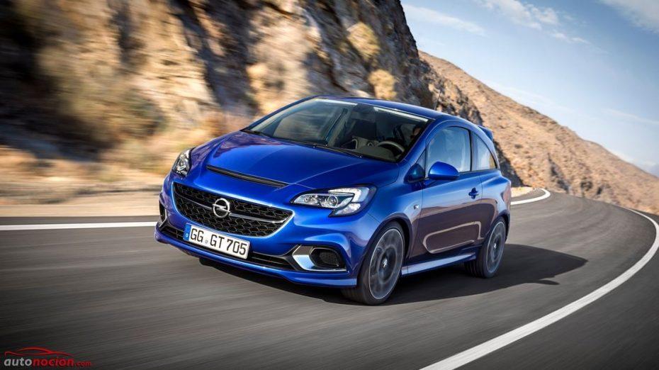 Opel le pone precio al Corsa OPC: 207 cv y hasta 280 Nm de par desde 17.09 euros el kilo