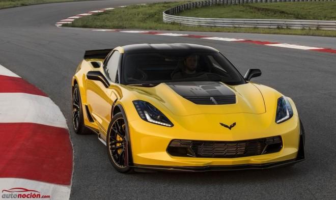 Corvette Z06 C7.R Edition 2016: Limitado a 500 unidades y con el máximo espíritu de Corvette Racing